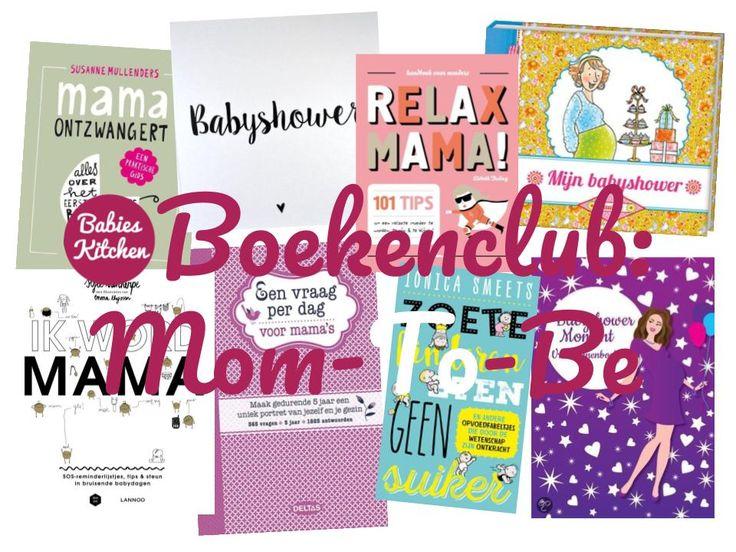 Bij een baby shower horen cadeau's niet alleen voor de baby maar ook voor de mama. In deze boekenclub leuke boeken voor de mama-to-be.