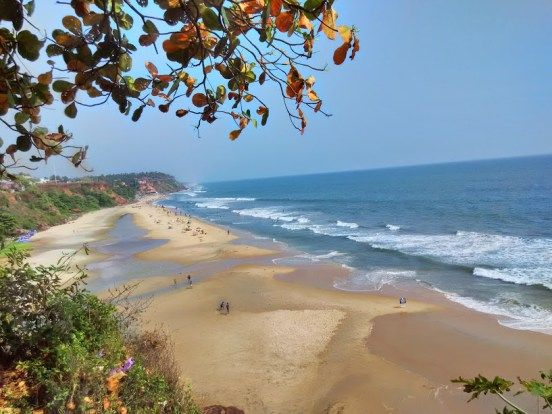 One of the best beaches in India: Varkala! #Travelogue #Travel #Varkala