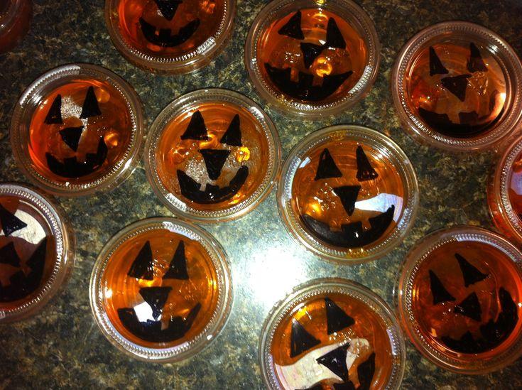 halloween jello shots - Halloween Shooters Cocktails
