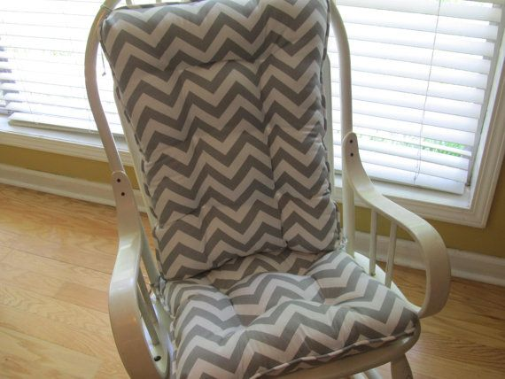 rocker rocking chair cushion set in by homestyled nursery