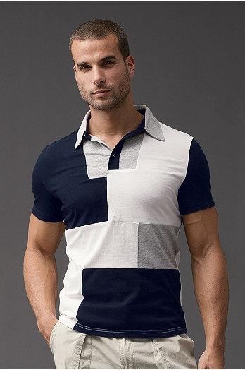 P.O.V.® Puzzle Mens Polo Shirt   UnderGear