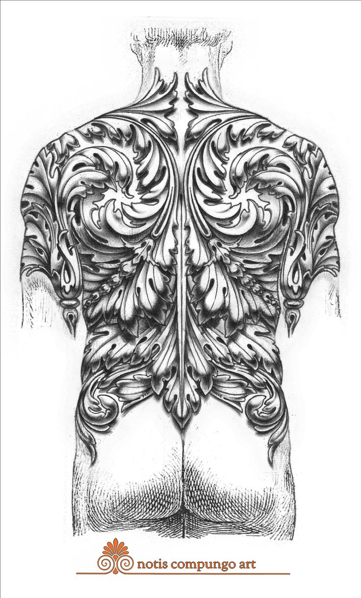 This full back baroque design was created to tightly fit the shapes of the body. If you'd like something made to fit you  in this style please contact me at notis.compungo@gmail.com