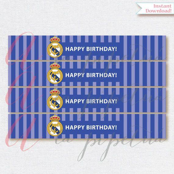 Este listado está para imprimir etiquetas de botellas de fútbol, Real Madrid para imprimir. Real Madrid etiquetas de las botellas.  Si como esta partida personalizada lo tiene un extra adicional costo de $5, por favor agregar el siguiente anuncio a su carro así en la comprobación:  https://www.etsy.com/listing/204380419/add-personalization  Usted recibirá un archivo PDF que es 8.5 x 11, con 4 etiquetas, sin marca de agua y en alta resolución. Usted tendrá que imprimir en paisaje.  Matching…