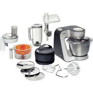 Bosch MUM56340 Küchenmaschine Styline / 900 Watt / Edelstahl-Rührschüssel / Durchlaufschnitzler / Mixeraufsatz Kunststoff / Knethaken Metall / Fleischwolf / Zitruspresse / Rühr-/Schlagbesen: Amazon.de: Küche & Haushalt (€279.00) - Svpply
