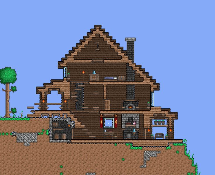 48 best Minecraft/terraria houses images on Pinterest | Minecraft ...