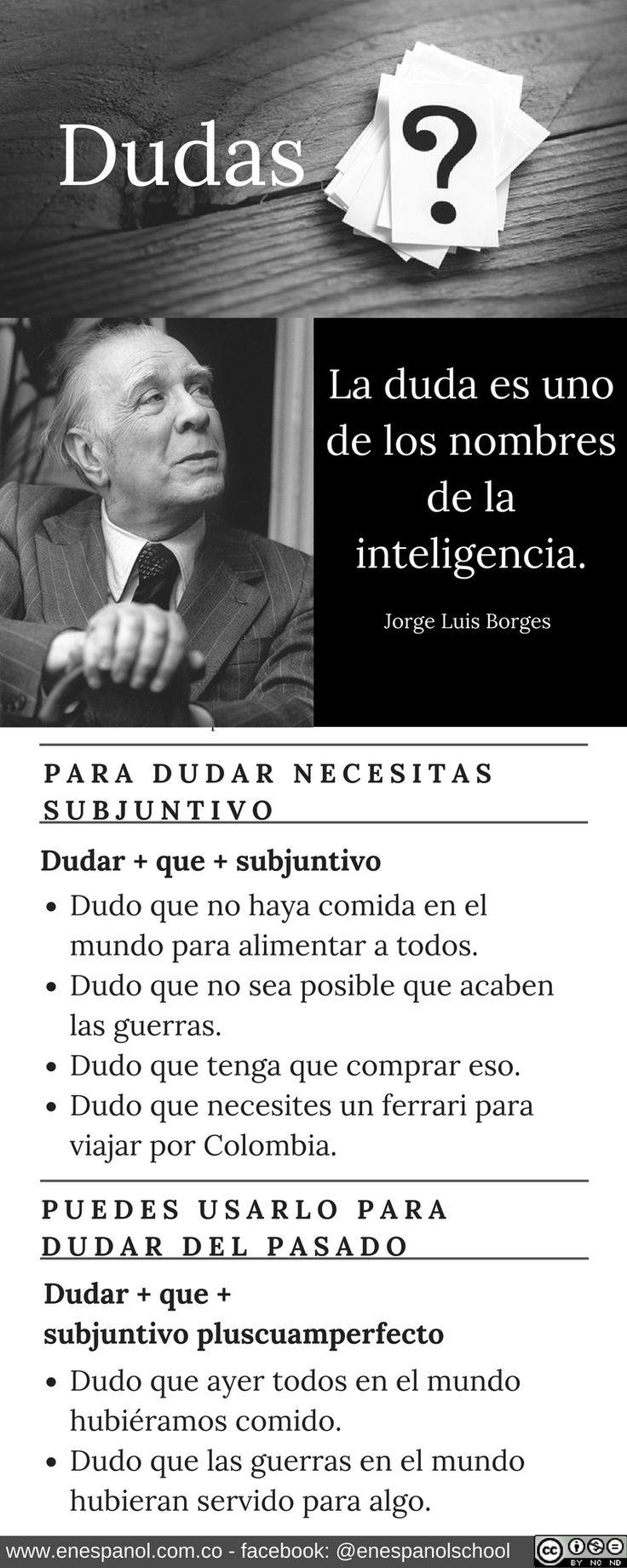 Subjuntivo  En Español  Dudas