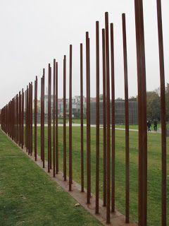 Le mémorial du mur de Berlin au Bernauerstrasse