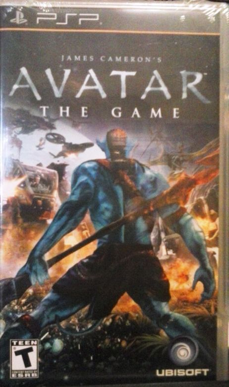 PSP GAME James Cameron's AVATAR: The Game 1 PLAYER The Official Video Game