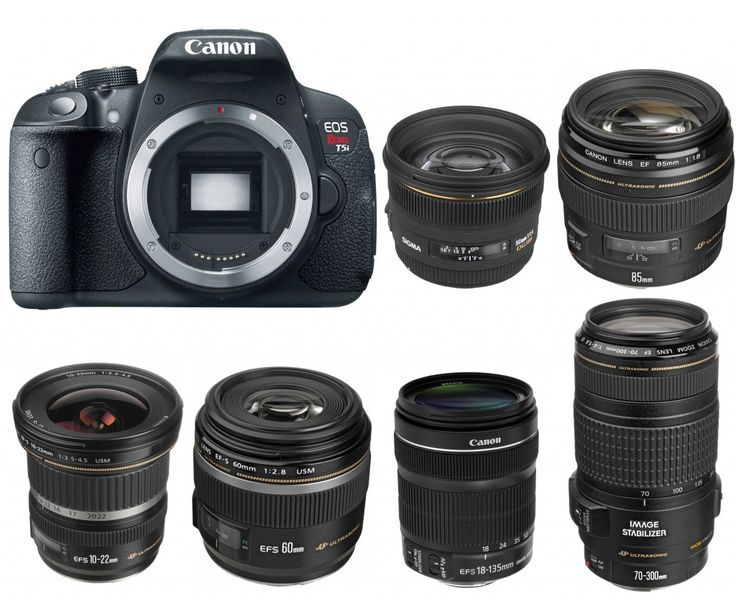 Canon EOS 700D/Rebel T5i is an entry-level APS-C DSLR announced in 2013. It replaced the 650D which is announced last year. Here are several recommended len