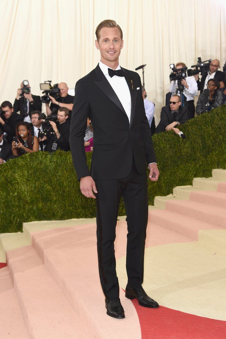 Pin for Later: Feast Your Eyes on All the Handsome Celebrity Guys at the Met Gala Alexander Skarsgard