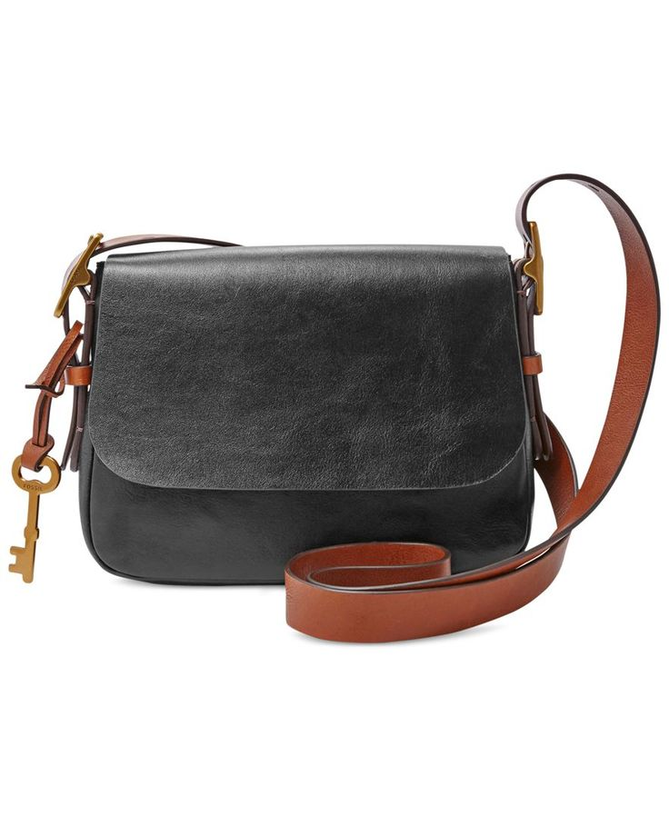 157e079733ba ... satchel crossbody leather black with goldtone color fossil harper  leather small crossbody Womens Michael By Michael Kors Sutton Parker  crossbody bag ...