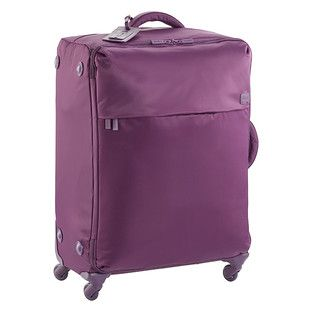 "Lipault Purple 28"" 4-Wheeled Paris Luggage"