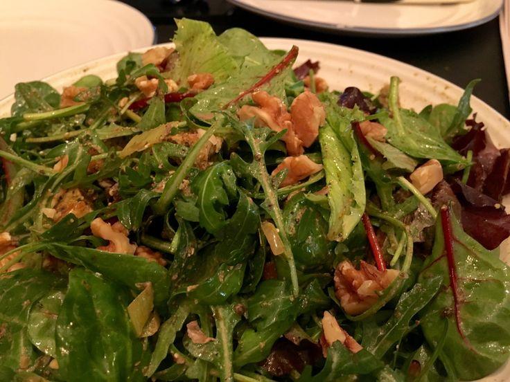 #Walnut #Pesto #Rocket #BabyLeaf salad http://gingerrookes.co.uk/healthy-eats #healthyeats # healthy