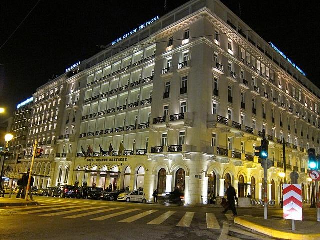 Hotel Grand Bretagne, Athens, Greece