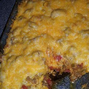 Beefy Tostada Casserole Recipe | Just A Pinch Recipes