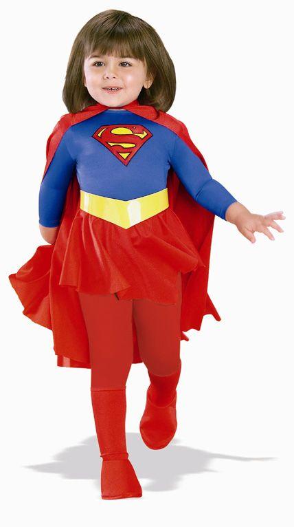 DELUXE Supergirl Costume - Girls Superhero Costumes $19.99