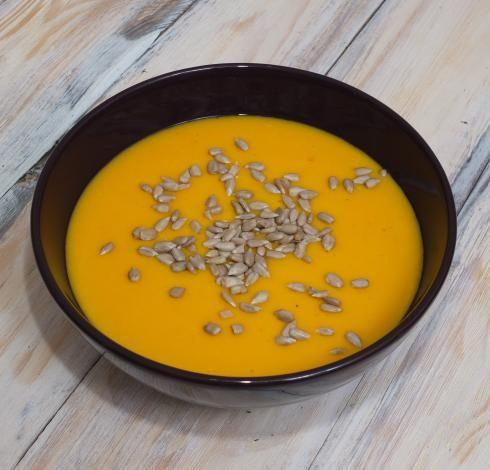Zupa śniadaniowa z dyni