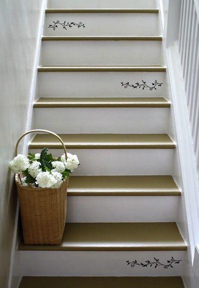 1000 id es sur le th me escaliers au pochoir sur pinterest contremarches escaliers et. Black Bedroom Furniture Sets. Home Design Ideas