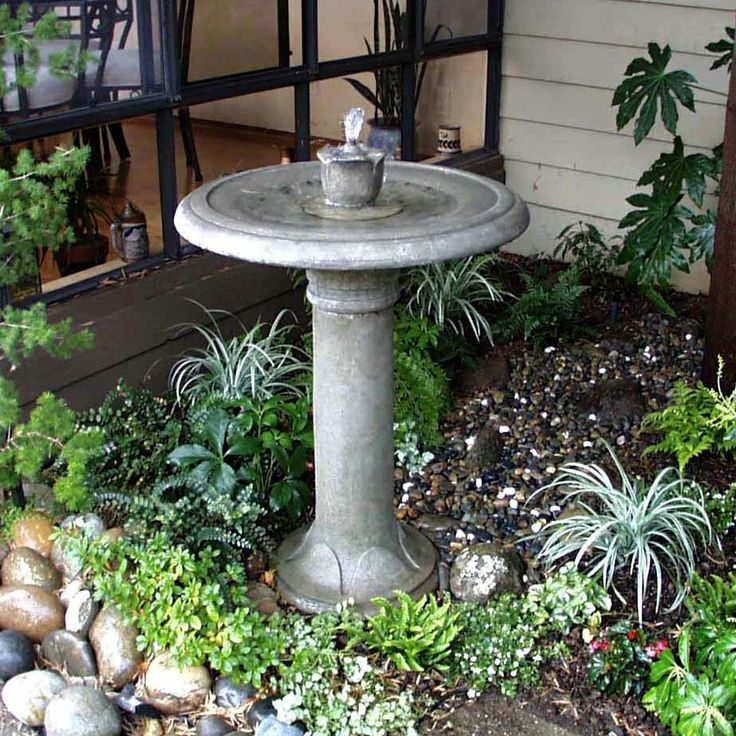 Best 25 Bird bath fountain ideas on Pinterest Garden water