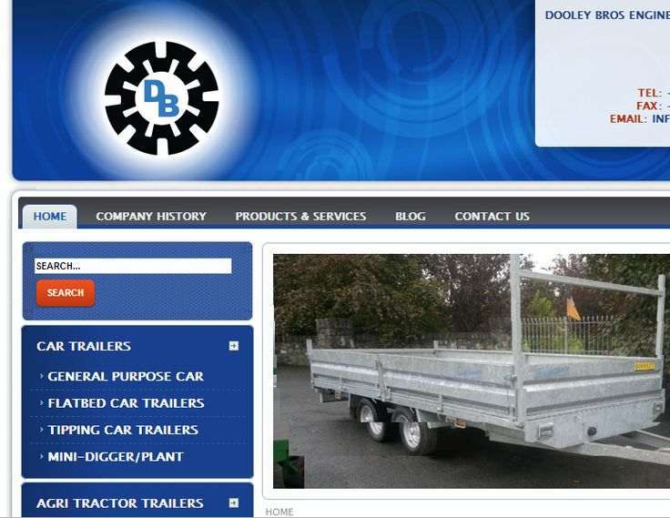 Dooley bros engineering - Web development - Brand You