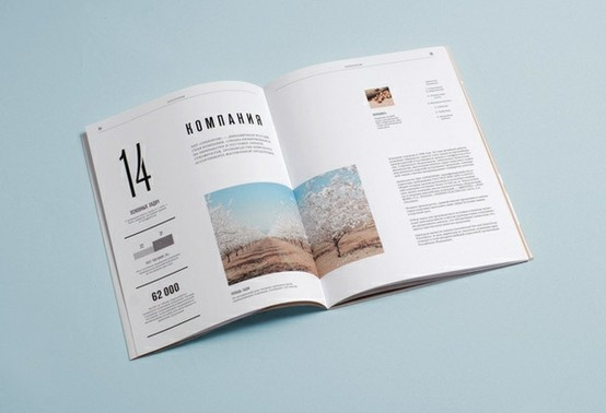 Very simple and good use of white space Nice editorial design #magazine #design