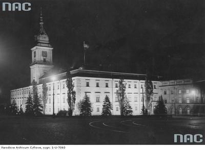 Zamek królewski, 1933