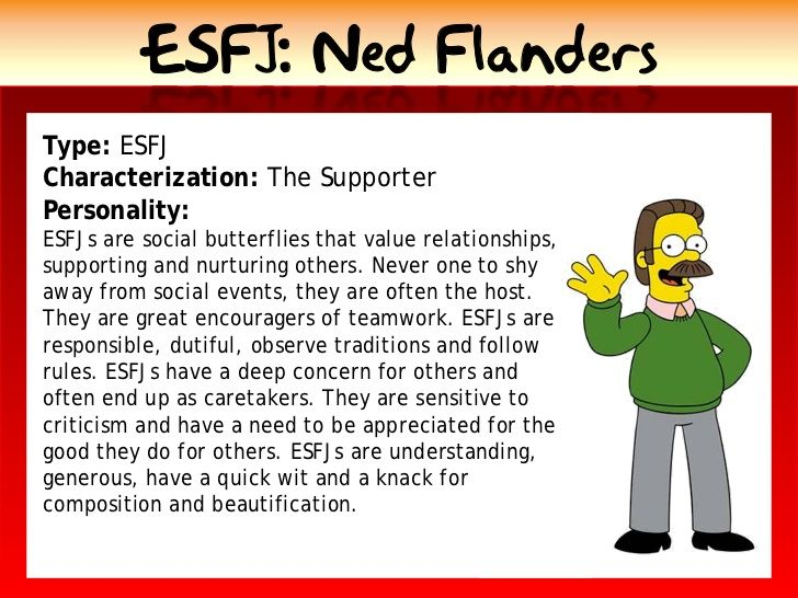 esfj dating Dating personality types  preferring to spend time one-on-oneestj the guardianisfj the nurtureresfj the caregiveristp the mechanicestp the doeresfp the.