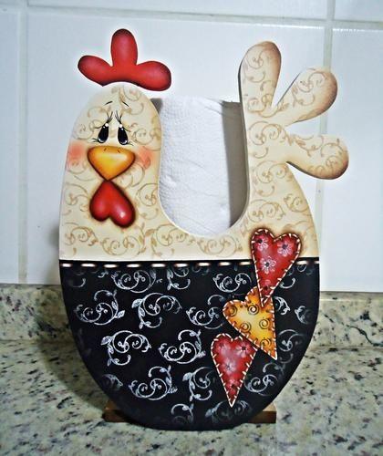 gallinas para pintar en madera - Cerca con Google