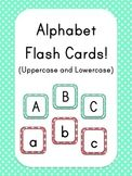 Alphabet Flash Cards - Polka Dot Theme!