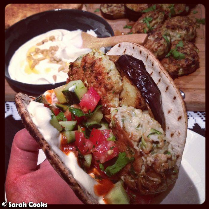 """Sarah's Sabih or """"The Best Pita Ever!"""" ~ Sarah Cooks"""