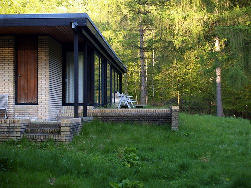 jørn utzon, architects own house, hellebæk, 1950-1952