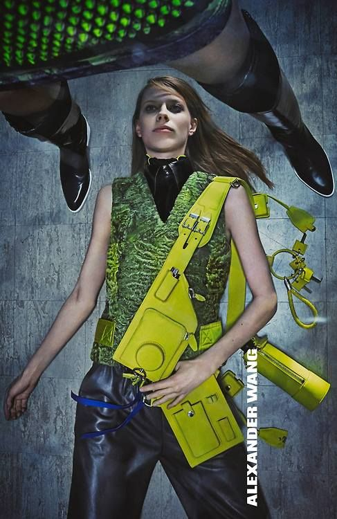 The Alexander Wang Fall 2014/Winter 2015 Campaign lensed by Steven Klein