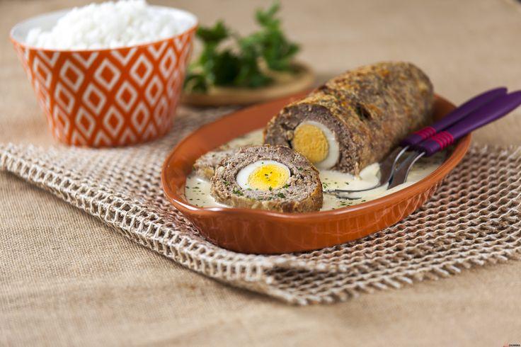 Receita de Rolo de carne rápido. Descubra como cozinhar Rolo de carne rápido de maneira prática e deliciosa com a Teleculinária!