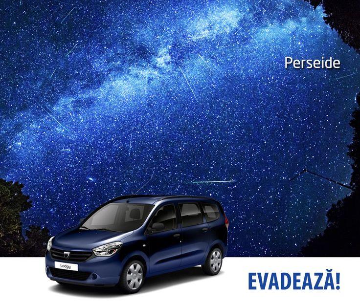 Fani Dacia, mergeți să vedeți Perseidele?