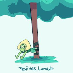 funny cute animation animation gif doggie too far garnet steven universe peridot diives animation 2D Diives artnsound steven peridot