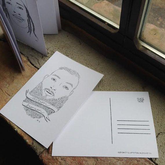 Colour Me Rap: Post Card Set by AlexDavey on Etsy