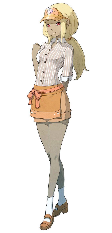 Kat, Waitress Costume from Gravity Rush 2