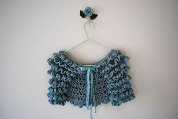 *forget-me-not* patten by tiny owl knits. Basically, I adore everything from Tiny Owl Knits.