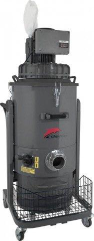 Zefiro DM30 ECO Wechselstrom Industriesauger bei Delfin Industriesauger. Der Industriesauger DM30 ECO ist ein kompakter und ergonomischer Industriesauger, der Festkörper sowie Stäube saufsaugt.