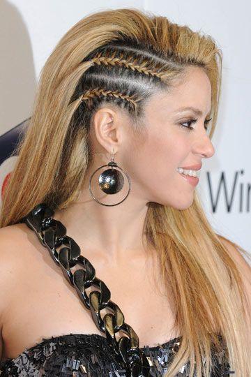Shakira cornrows