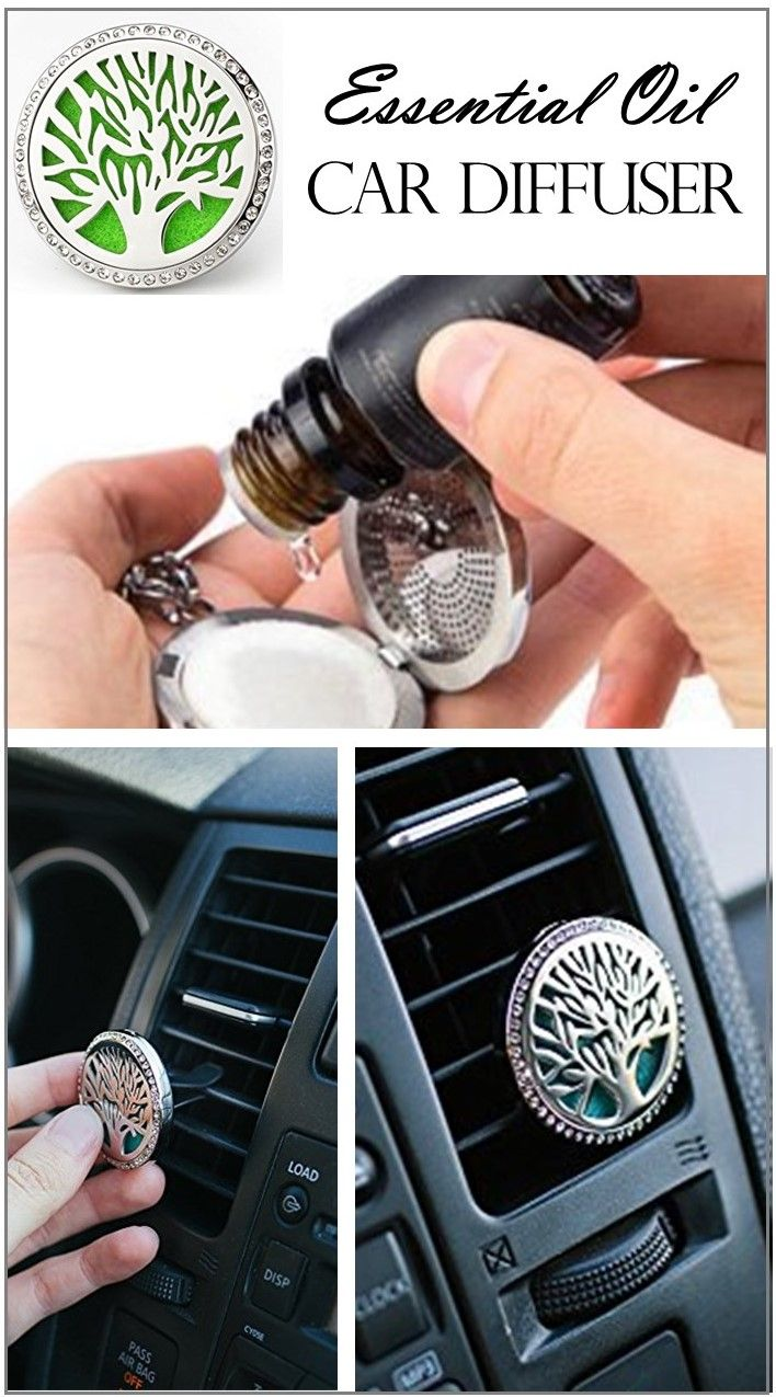 LOVE this! Such a beautiful essential oil CAR DIFFUSER! Simply add a few drops of essential oil to the felt pad and attach the clip to your car's air vent. Air flows through the clip and is diffused throughout the car. Simple and effective. Plus it's gorgeous- it's like diffuser jewelry for your car. It even comes in several different designs. Love it!