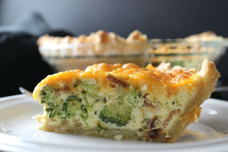 + ideas about Broccoli Cheddar Quiche on Pinterest | Quiches, Quiche ...