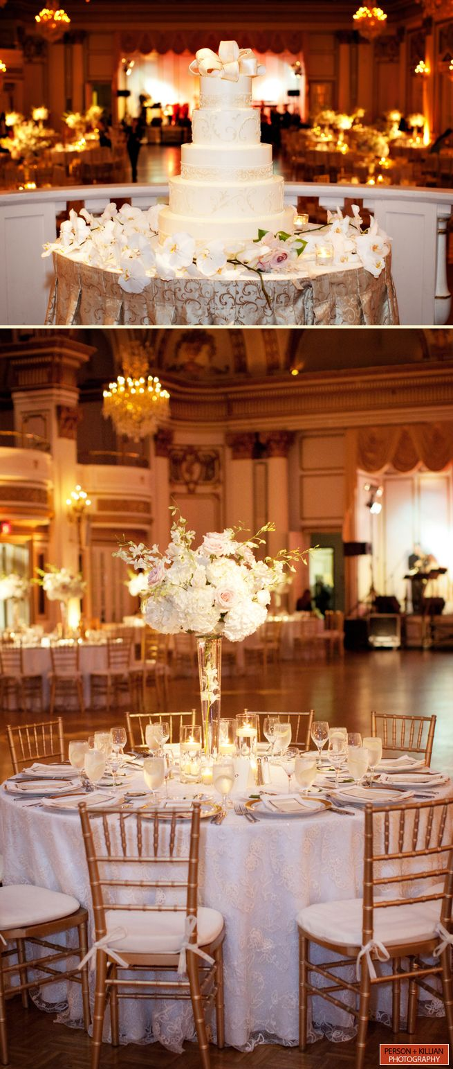 A gorgeous wedding in the Grand Ballroom, by Person + Killian Photography
