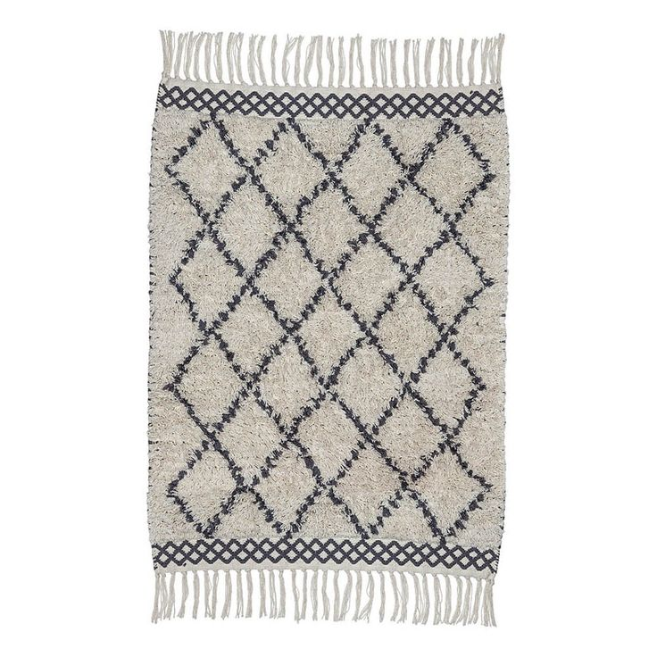 Tapis en coton Morocco Liv Interior Enfant- Large choix de Design sur Smallable, le Family Concept Store - Plus de 600 marques.
