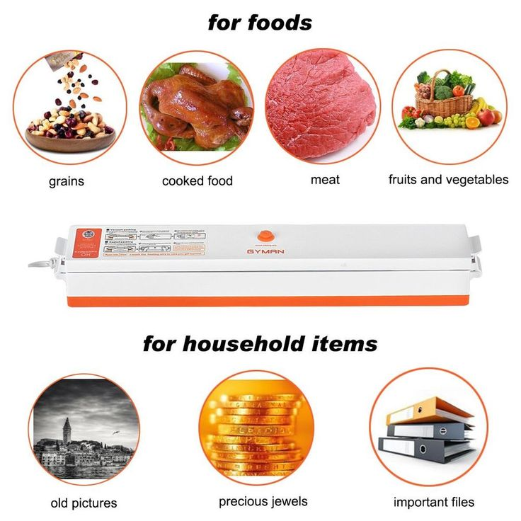 Automatic Food Vacuum Sealer Packaging Machine with 15 Vacuum Bags Keep it Fresh #Doesnotapply