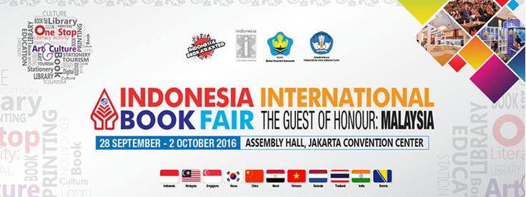 Indonesia International Book Fair (IIBF) 2016.