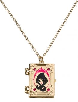 Ever After High™ Necklace. You can get this at justice, as well as the other mirror necklace. Really cute! I'm getting this! It opens too!