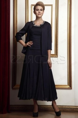 Awesome Plus Size Mother Of The Bride Dresses Tea Length