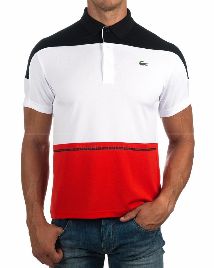Polos Lacoste Sport -Tricolor | Envio Gratis