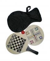 Beach bat set for Ludo, Chess or beach tennis